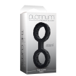 Handcuffs Platinum Premium Silicone Small Black