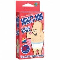 Travel Size Midget-Man Blow Up Doll