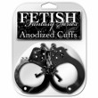 Fetish Fantasy Series Anodized Cuffs - Black