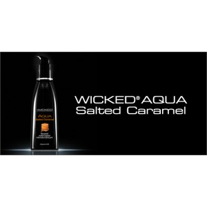 WICKED AQUA Salted Caramel Lubricant 2.0 fl.oz./60 ml