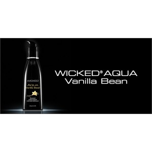 WICKED AQUA Vanilla Bean Lubricant 2.0 fl.oz./60 ml
