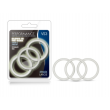 Performance - VS3 Pure Premium Silicone Cock Rings - Large - Glow