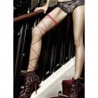 BACI WRAP-AROUND LEG GARTER OS RED