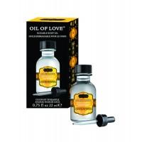 Kama Sutra Oil of Love Coconut Pineapple .75 fl oz. 22 ml