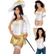 *LC8564 COSTUME ROYAL MUSKETEER  - PLUS SIZE L/XL