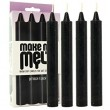Make Me Melt! warm drip candles black