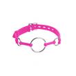 Pink Silicone Ring Gag