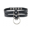 Love in Leather Double Row Choker