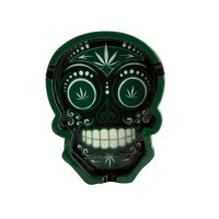 Weed - Candy Skull Weed Ashtray