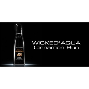 WICKED AQUA Cinnamon Bun Lubricant 2.0 fl.oz./60 ml