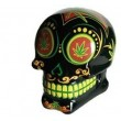 Novelty Weed Skull Coin Bank