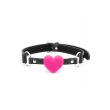 Love in Leather RED Heart Shaped Gag