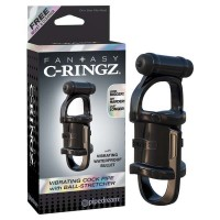 Fantasy C-Ringz Vibrating Cock Pipe and Ball Stretcher