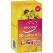 Lifestykes 20's Party Mix Latex Condom