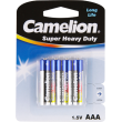 Super Heavy Duty Batteries AAA (4 Pack)