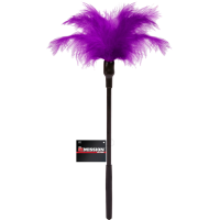 Sex Missions Feather Tickle Whip (Purple)