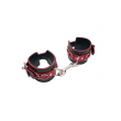 Love in Leather Ankle Restraints Red