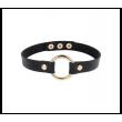 Black Choker Gold Ring CHO027
