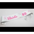 Bride To Be Sash - Silver