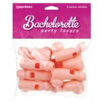 Bachelorette Party Favors Pecker Whistles Flesh 8 Pecker Wistles