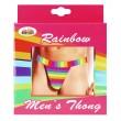 *Mens Rainbow Thong