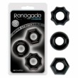Renegade Chubbies Cock Ring - Black